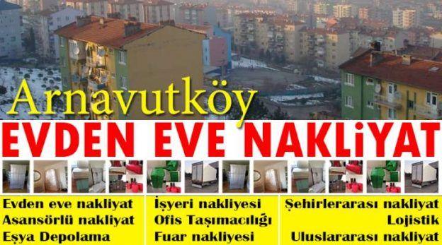 Adnan Menderes mahallesi eşya taşıma Arnavutköy